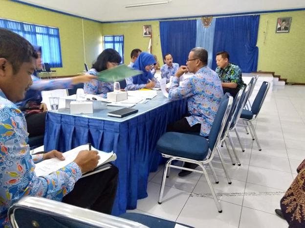 Rapat Koordinasi membahas Harga Dasar Sawah Eks Benkok Kelurahan Mojorejo Aset Pemerintah Kota Madiun