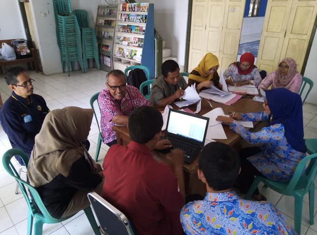Dinas Sosial Kota Madiun mengadakan monitoring dan Verifikasi Pelaksanaan  DTKS  SK KEMENSOS 84
